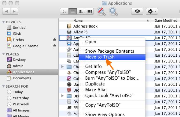 Remove MacVX Adware from MAC OSX Safari and Firefox