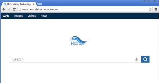 remove-Searches.safehomepage.com