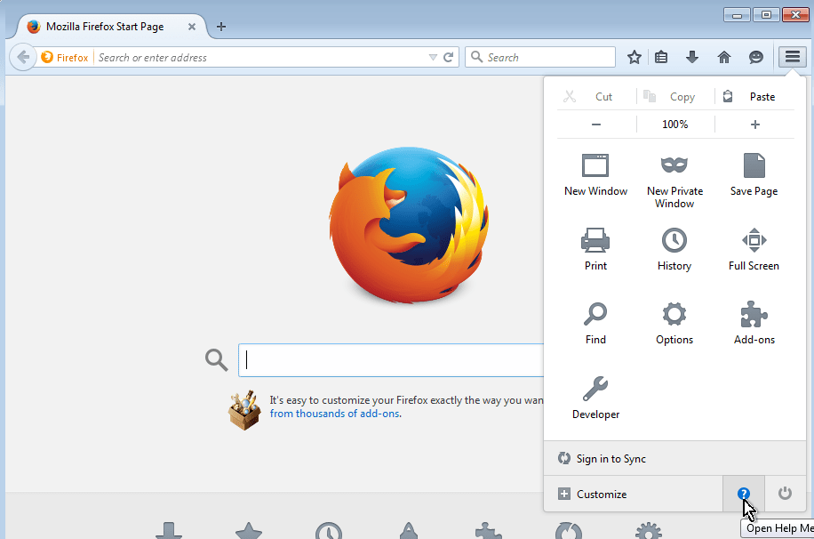 firefox-troubleshooting-options