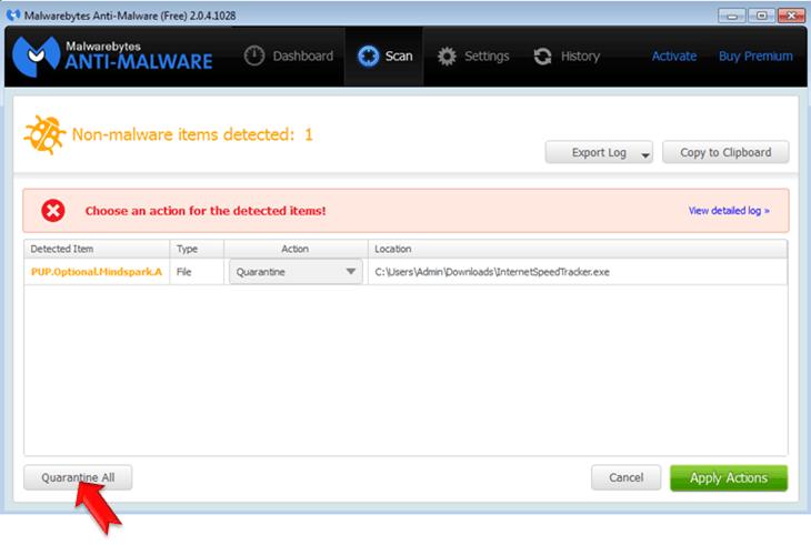 Malwarebytes Anti-Malware-removal
