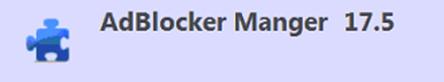 remove AdBlocker Manger