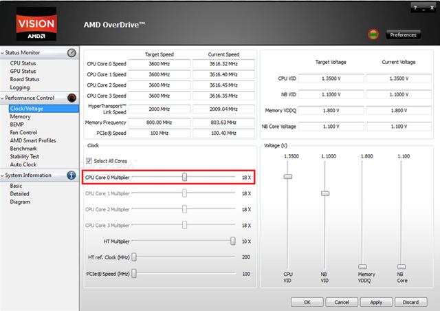 AMD OneDrive Perfomance Control