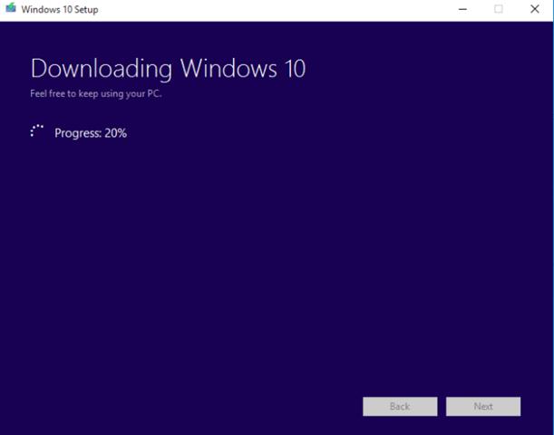 downlaod windows 10 in a iso format