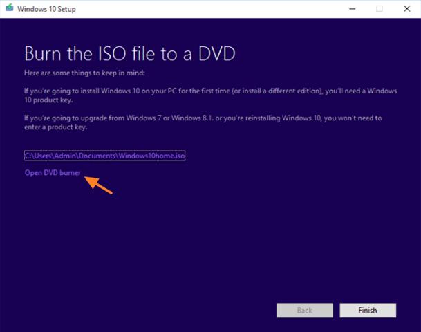 Windows 10 installation media