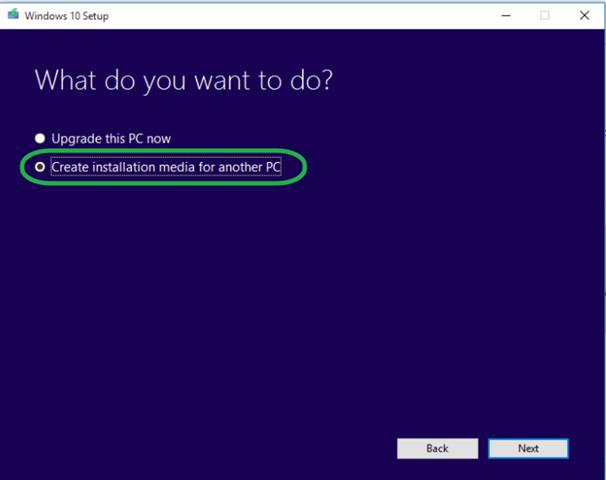 create Windows 10 DVD