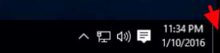 show desktop windows 10