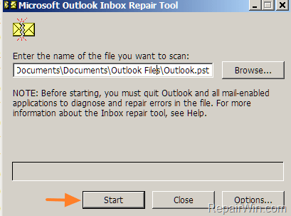 How to Repair Outlook PST Data Files