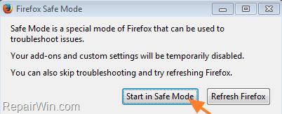 fix Firefox XPCOM