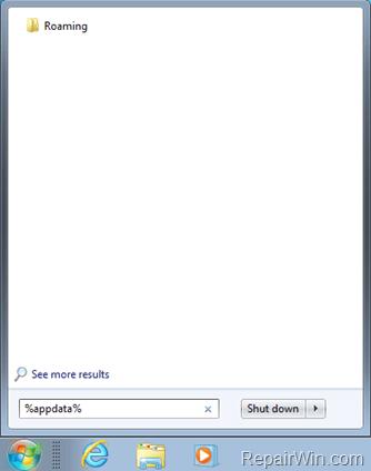 roaming profile folder