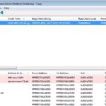 How to Analyze MiniDump Files with  BlueScreenView.