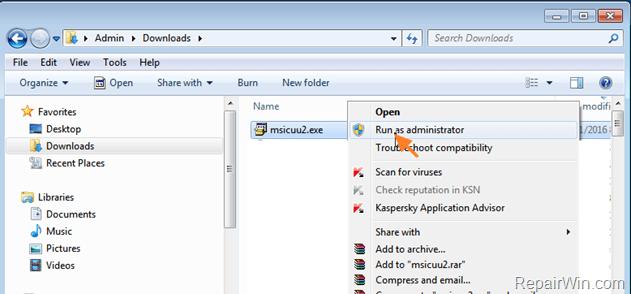 Permission denied 800A0046 Code - Windows Script Host Error