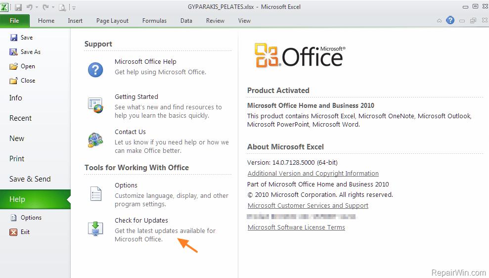 Open Office Updates 2017