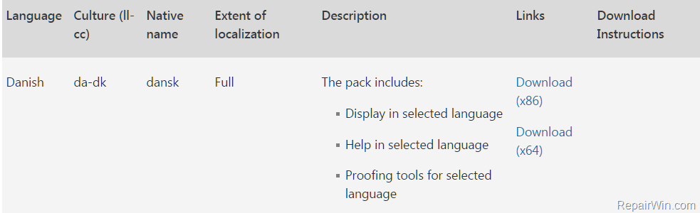 windows 7 language pack download 64 bit sp1