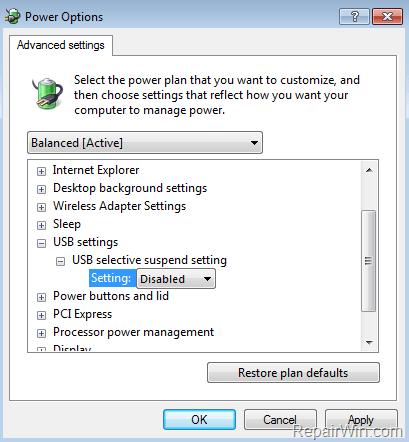 windows 7 fix usb device not recognized