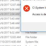 [FIX] Access Denied at 'C:\System Volume Information' folder.