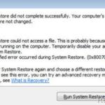 [FIX] System Restore 0x80070002 error on Windows 10/8/7/Vista (Solved)