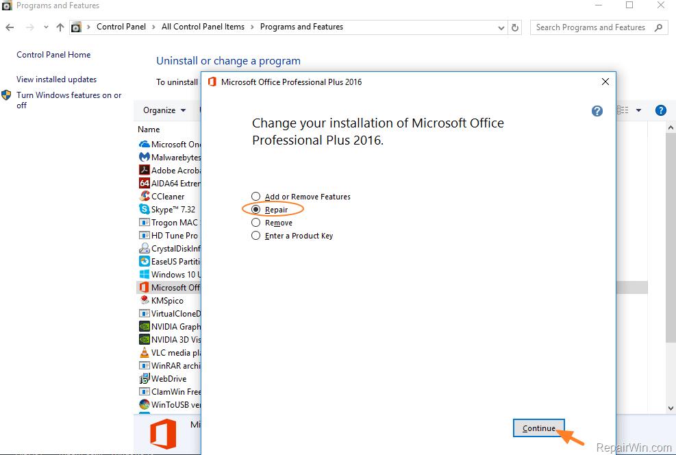 OUTLOOK EXE Runtime Error - Microsoft Visual C++ Runtime