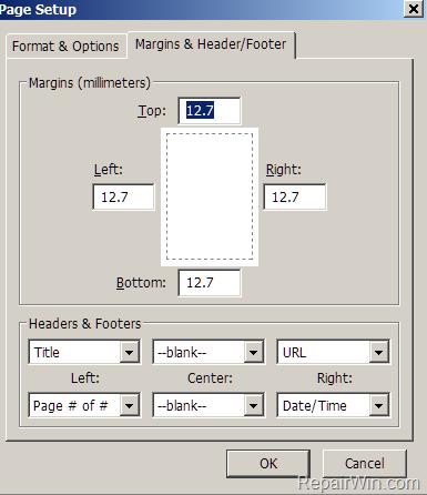 firefox print margins