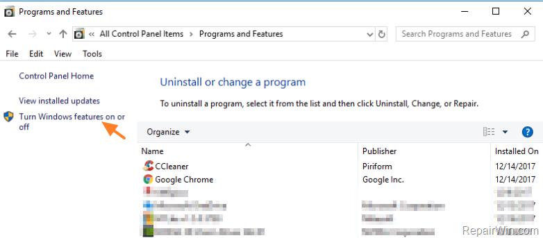 Windows 10 KB4054517 Update Fails to Install 0x800f081f