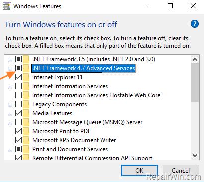 descargar net framework 3.5 para windows 10 64 bits