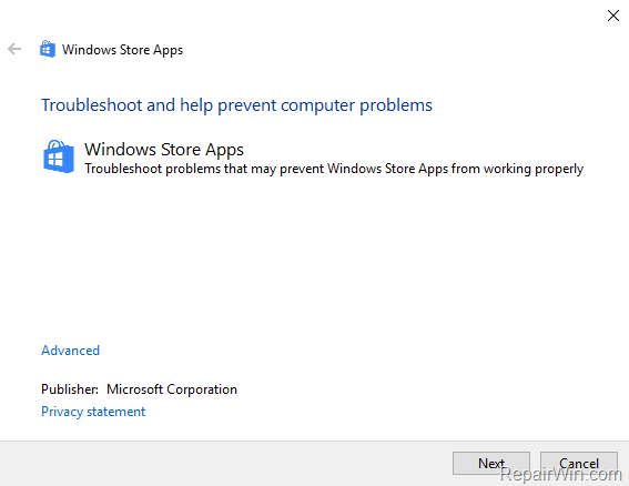 cortana error windows 10