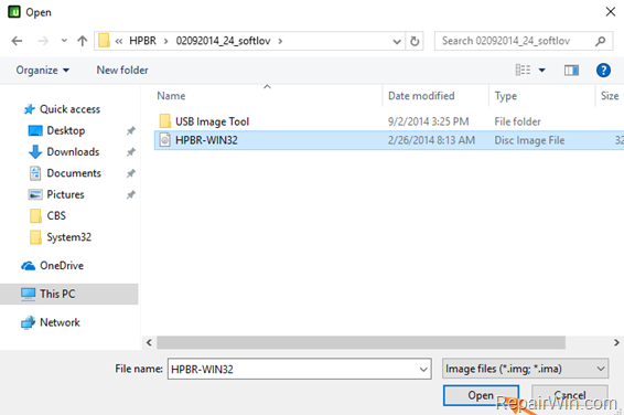 hp cmos setup password reset utility