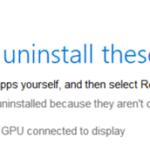 FIX: Windows 10 1803 Update issue on Hybrid laptops with discrete GPU.