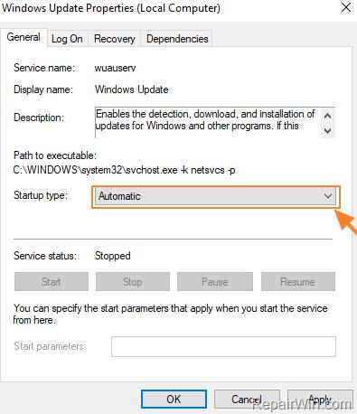 FIX: Windows 10 Update Error 0x80070422 (Solved) • Repair Windows™