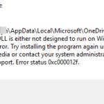 FIX: Windows 10 Bad Image 0xc000012f – 0xc0000020 (Solved)