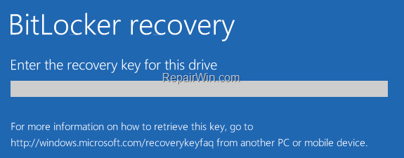 How to Disable Bitlocker in Windows Recovery Environment (WinRE