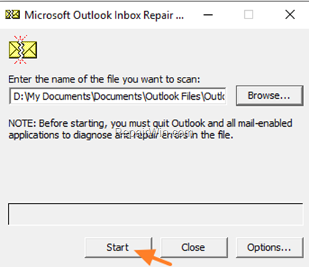 Outlook Inbox Repair Tool