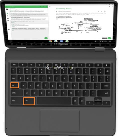 How To Turn On CAPS LOCK on ChromeBook
