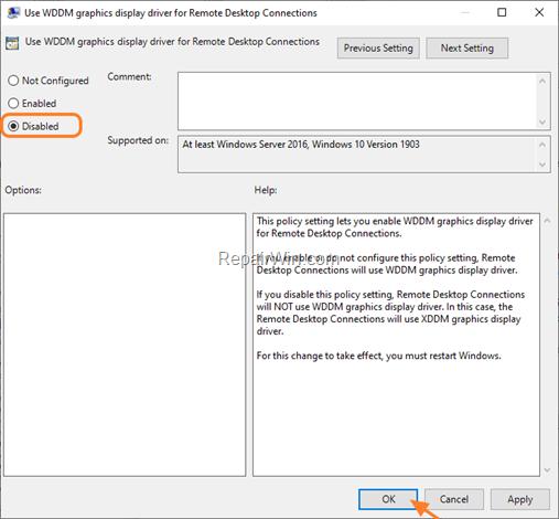 FIX: DWM.EXE High CPU Usage while connecting through RDP in Windows 10