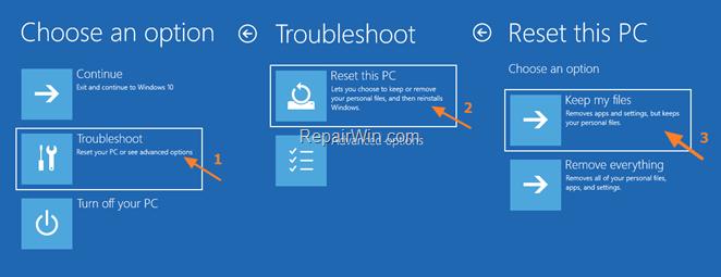 Cómo reinstalar Windows 10 si Windows no arranca.