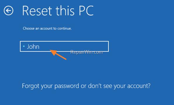 Cómo reinstalar Windows 10 si Windows no puede arrancar.
