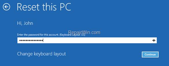 Cómo reinstalar Windows 10 si Windows no se inicia.