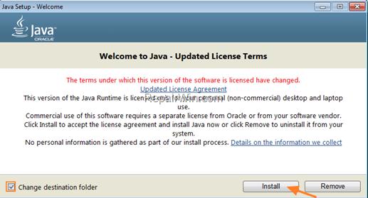 Install Java