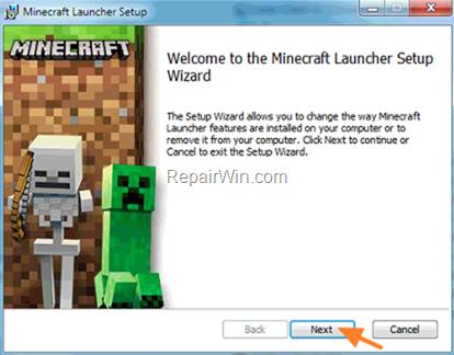Repair Minecraft