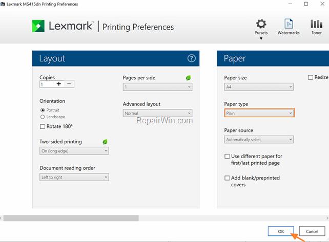 FIX Slow Lexmark Printing Lexmark - Windows 10