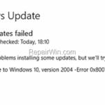 FIX: 0x80070005 Error in Windows 10 Update (Solved)