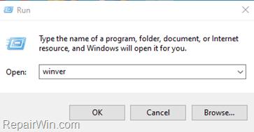 See Windows 10 Installed Version