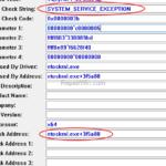 FIX: ntoskrnl.exe+3f5a80 BSOD SYSTEM_SERVICE_EXCEPTION.