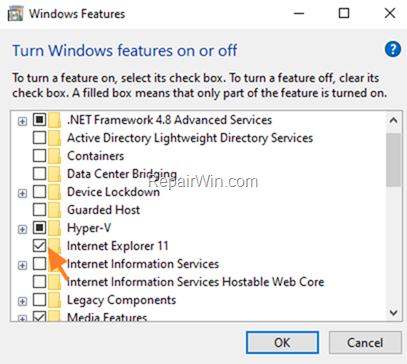 How to Uninstall & Install Internet Explorer 11 on Windows 10