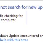 FIX: 80072EFE Update Error in Windows 7 (Solved)
