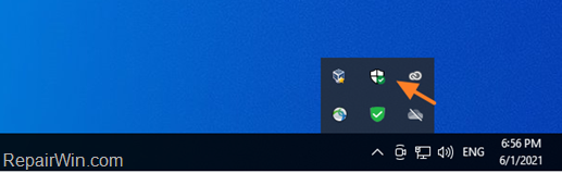 FIX: Windows Defender icon missing from Taskbar