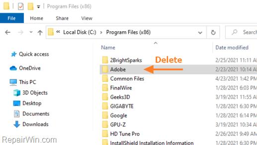 FIX Adobe Reader 10-10 & 1014-1014 errors