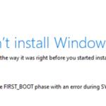 FIX: 0xC1900101-0x30018 in Windows 10 Update.