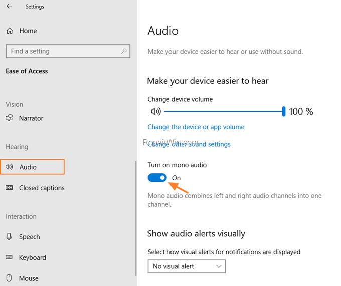 fix no audio devices Windows 10