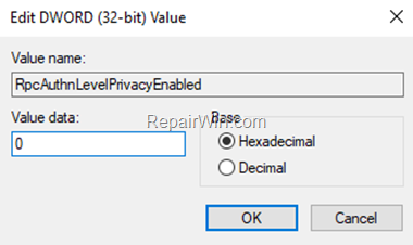 RpcAuthnLevelPrivacyEnabled